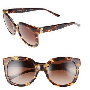 Tory Burch 54mm tortoise sunglasses
